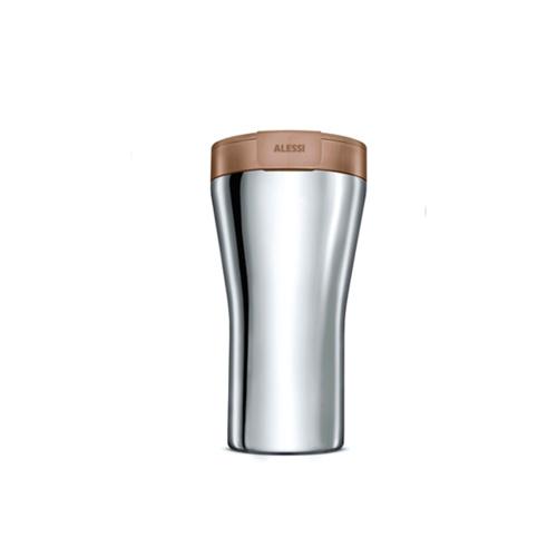 Alessi Caffa Thermosbeker 0,4L Bruin