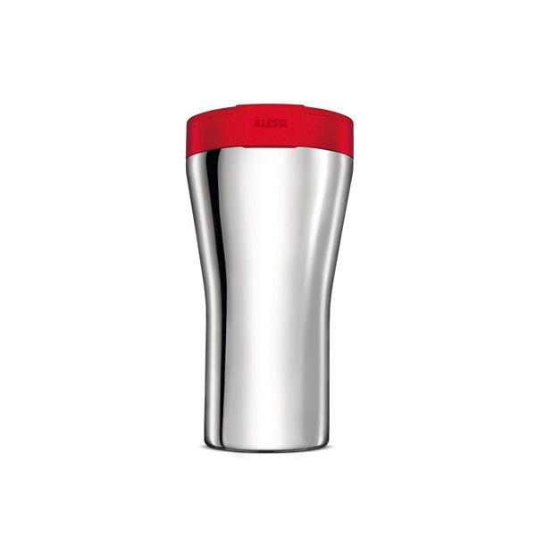 Alessi Caffa Thermosbeker 0,4L Rood