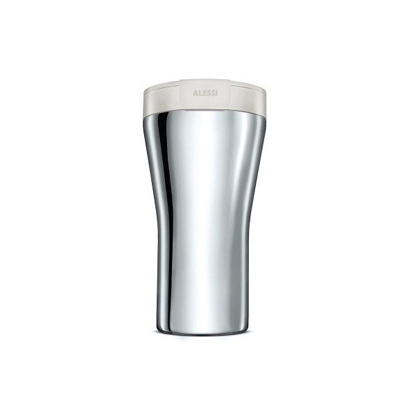 Alessi Caffa Thermosbeker 0,4L Wit