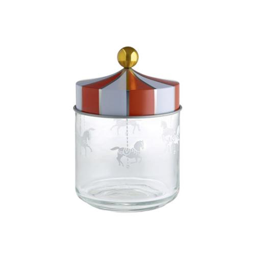 Alessi Circus glazen voorraadpot 0,75L