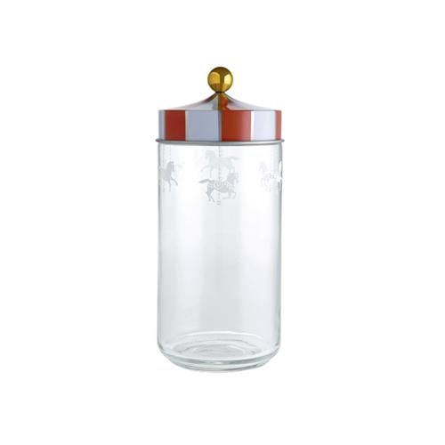 Alessi Circus glazen voorraadpot 1,5L