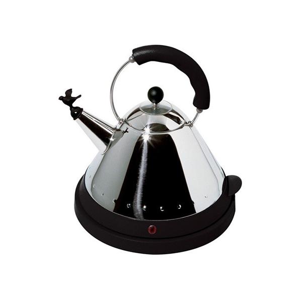 alessi elektrische waterkoker 1 5l zwart bobplaza haarlem. Black Bedroom Furniture Sets. Home Design Ideas
