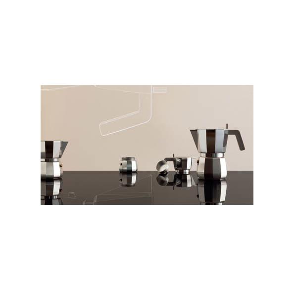 Alessi Moka Percolator 1 kops Aluminium