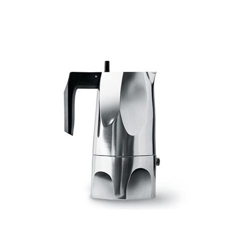 Alessi Ossidiana Percolator (1 kops) Aluminium Glans