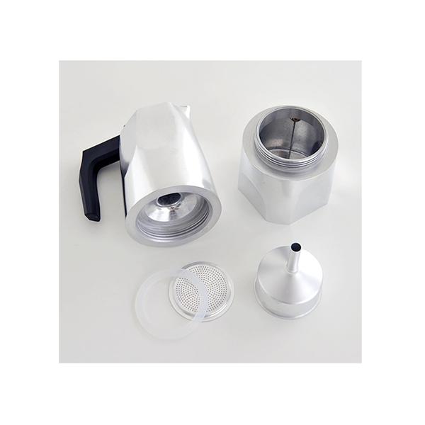 Alessi Ossidiana Percolator (3 kops) Aluminium Glans