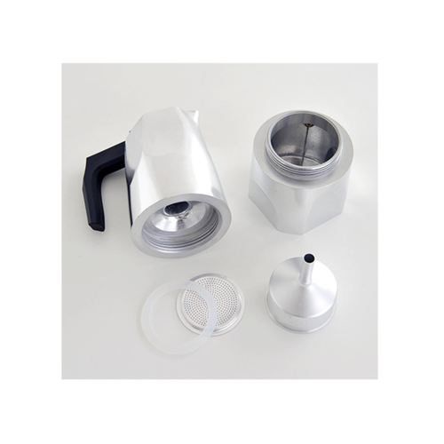 Alessi Ossidiana Percolator (6 kops) Aluminium Glans