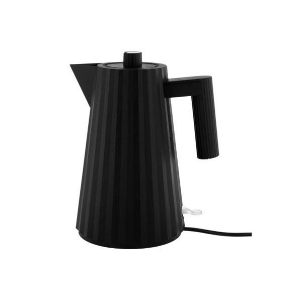 Alessi Plisse Waterkoker 1,7L Zwart