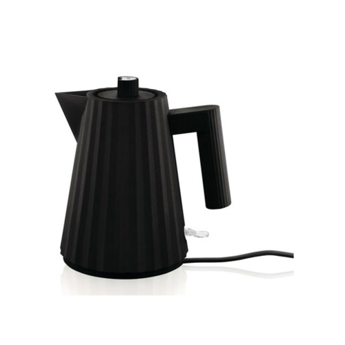Alessi Plisse Waterkoker 1L Zwart