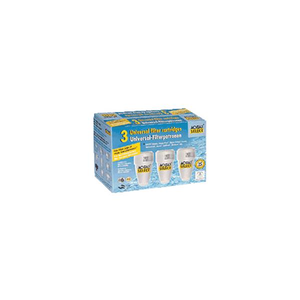 Aqua Select Classic Filterpatronen 3 pack