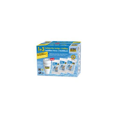 Aqua Select Filterpatroon en 3 navulverpakkingen