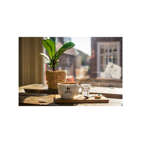 Bocca Coffee Cappuccino kop en schotel