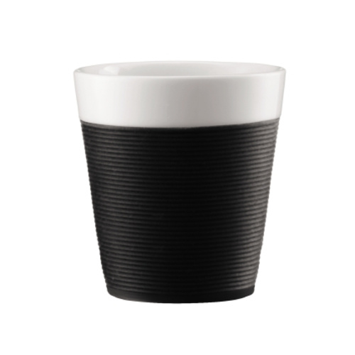 Bodum Bistro 2 mokken 0,17L Zwart