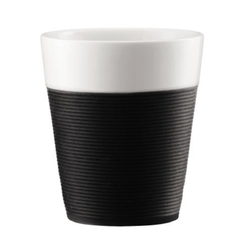 Bodum Bistro 2 mokken 0,3L Zwart