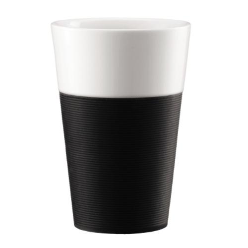 Bodum Bistro 2 mokken 0,6L Zwart