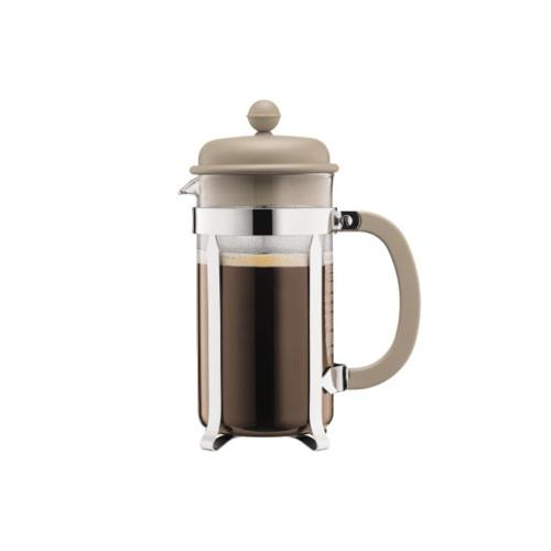 Bodum Cafetiere 8 kops, 1L Wit