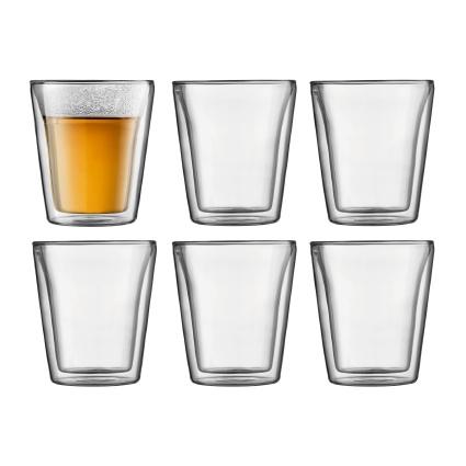 Bodum Canteen Dubbelwandige Glazen 0,2L 6 stuks