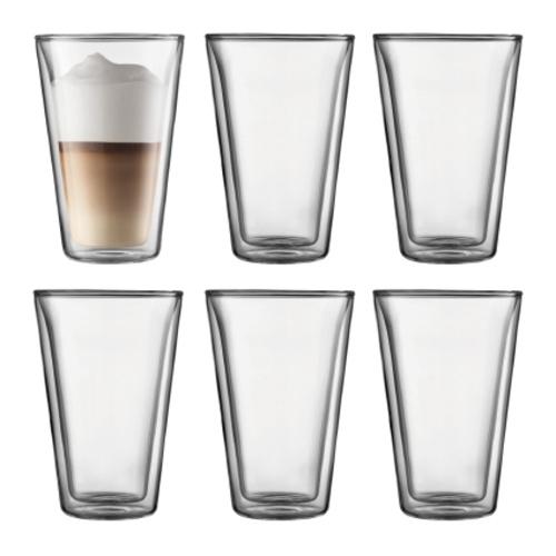 Bodum Canteen Dubbelwandige Glazen 0,4L 6 stuks