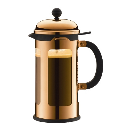 Bodum Chambord cafetiere 1L Koper