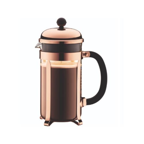 Bodum Chambord Cafetiere Koper 1L