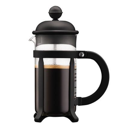 Bodum Java cafetiere 3 kops, 0,35L Zwart