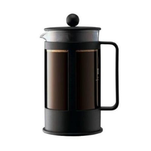 Bodum Kenya Cafetiere, 3 kops, 0,35L Zwart