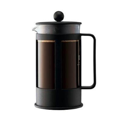 Bodum Kenya Cafetiere, 8 kops, 1L Zwart