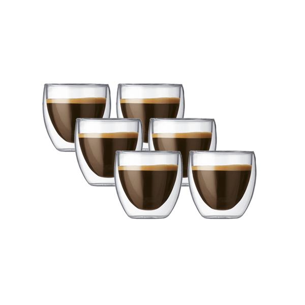 Bodum Pavina S (0,08L) 6 stuks