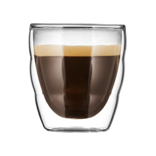 Bodum Pilatus glas S (0,08L) 2 stuks
