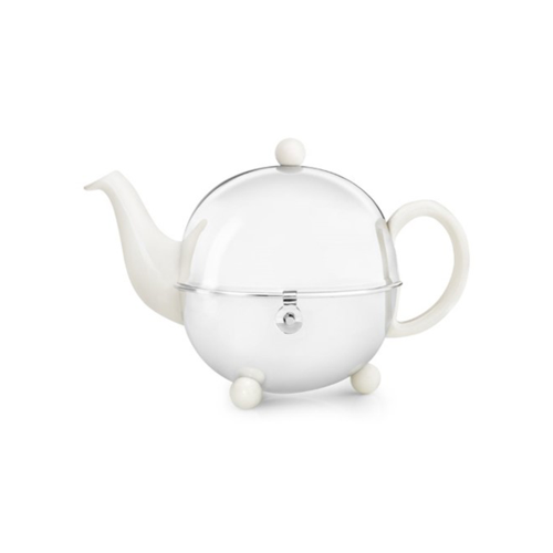Bredemeijer Cosy Theepot 1,3L Creme / Wit