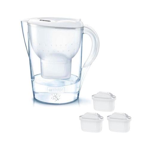 Brita Waterfilterkan Marella Cool Wit Promopack