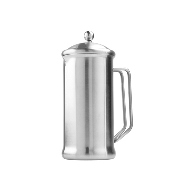 Cafetiere 400ml Brushed