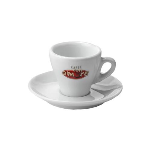 Caffe Con Amore Espresso Kop en Schotel