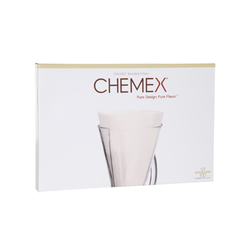 Chemex Koffiefilters Ongevouwen Halve Maan 100 stuks