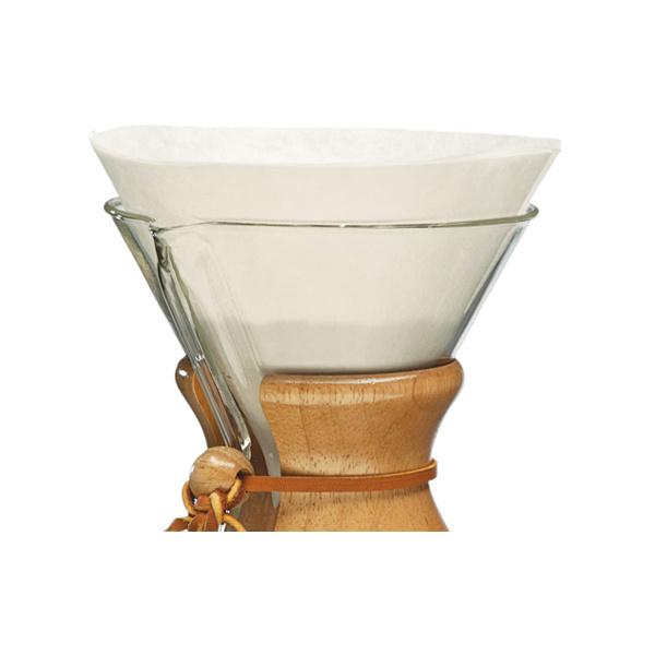 Chemex Koffiefilters Voorgevouwen Rond 100 stuks