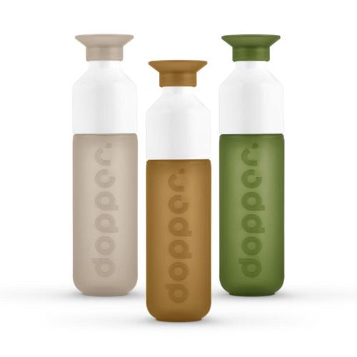 Dopper Drinkfles Voordeelpakket Back To Nature Collectie 3 stuks