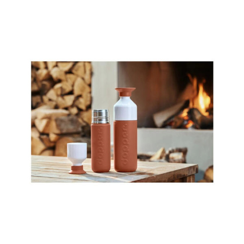 Dopper Insulated Thermosfles Terracotta Tide 350 ml