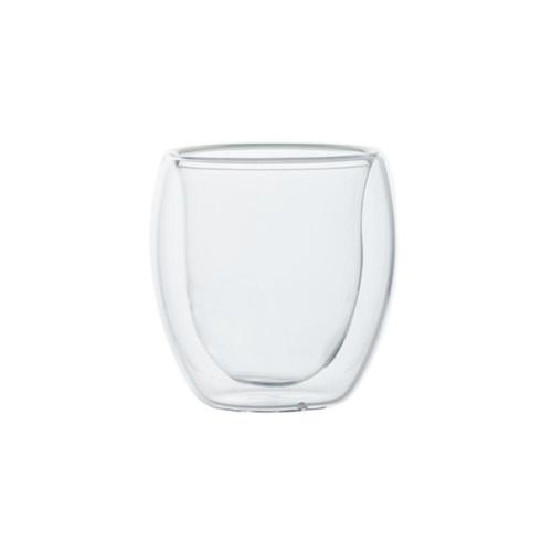 Dubbelwandig Glas 80 ml 2 stuks
