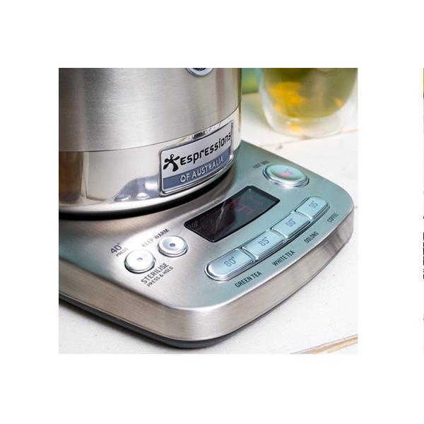 Espressions Smart Kettle Waterkoker 1,7L RVS