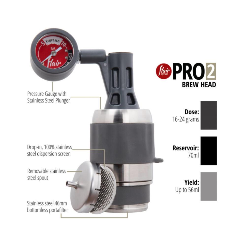 Flair Espressomaker PRO 2 Complete Broeikop