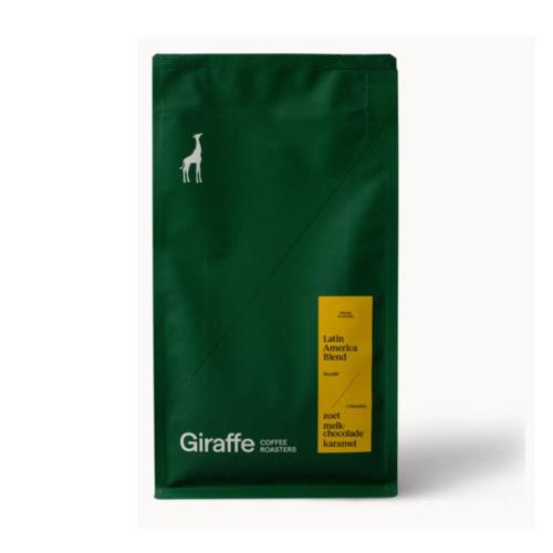 Giraffe Coffee Koffiebonen Latin America Blend 350 gram