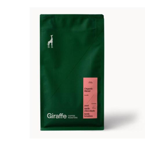 Giraffe Coffee Koffiebonen Organic Blend 350 gram