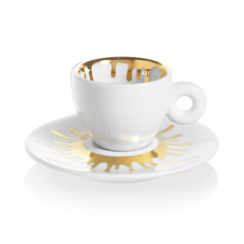 illy Art Collection Ai Weiwei Espresso Kop en Schotel 2 stuks