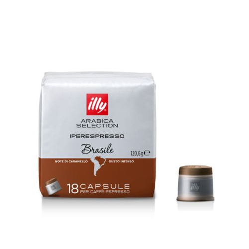 illy Capsules Iperespresso Arabica Selection Brasile