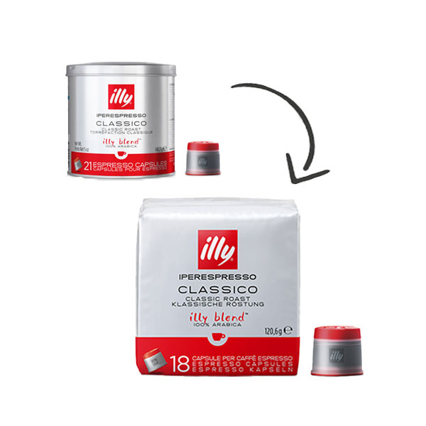 illy Capsules Iperespresso Basic Assortiment