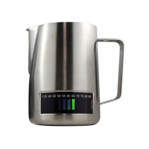 Latte Pro Melkkan Met Thermometer 1L RVS