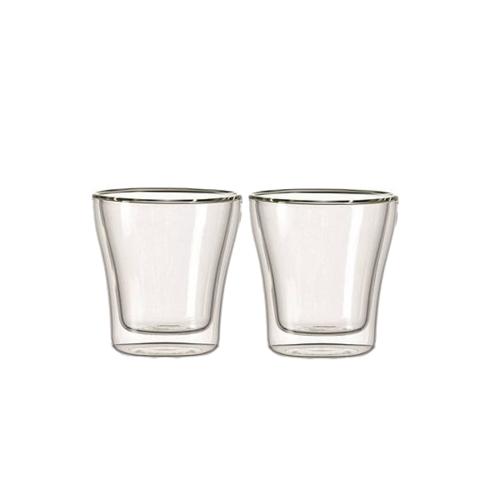 Leonardo Duo Dubbelwandige Cappuccino Glazen Set van 2 stuks 250ml