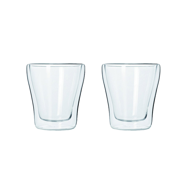 Leonardo Duo Dubbelwandige Espresso Glazen Set van 2 stuks 85ml