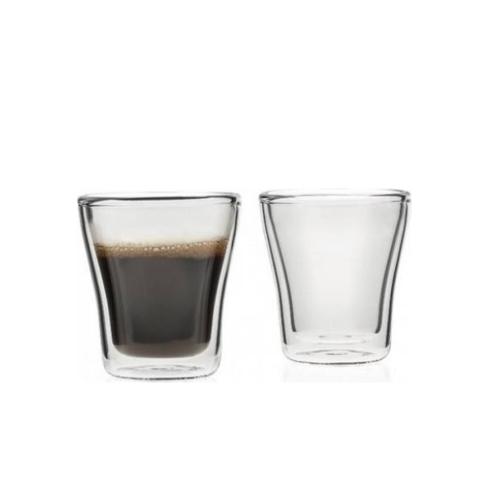 Leonardo Duo Dubbelwandige Espresso Glazen Set van 2 85ml