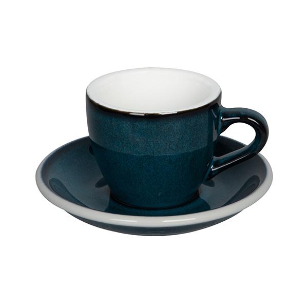 Loveramics Egg Espresso kop en schotel Night Sky 80 ml