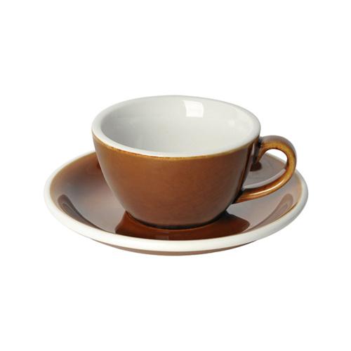Loveramics Egg Koffie kop en schotel Caramel 150 ml